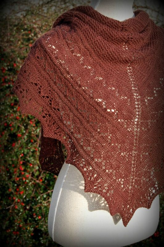 Lumen de Brooklyn Tweed tricoté en Saumur