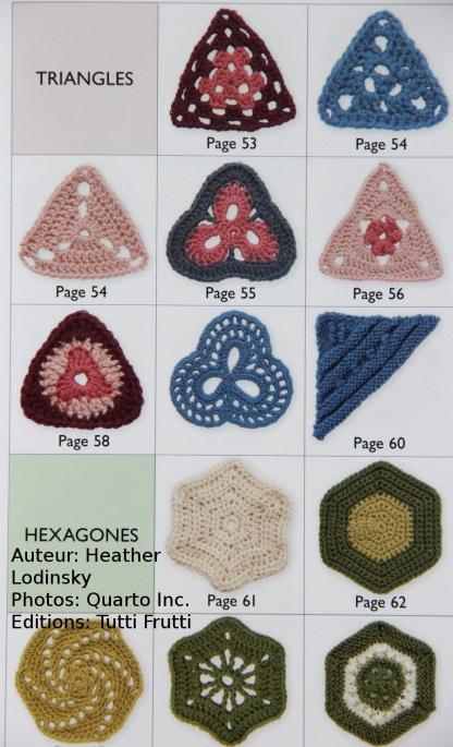 150 motifs à crocheter et tricoter 2