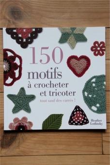 livre crochet tricot carrés granny