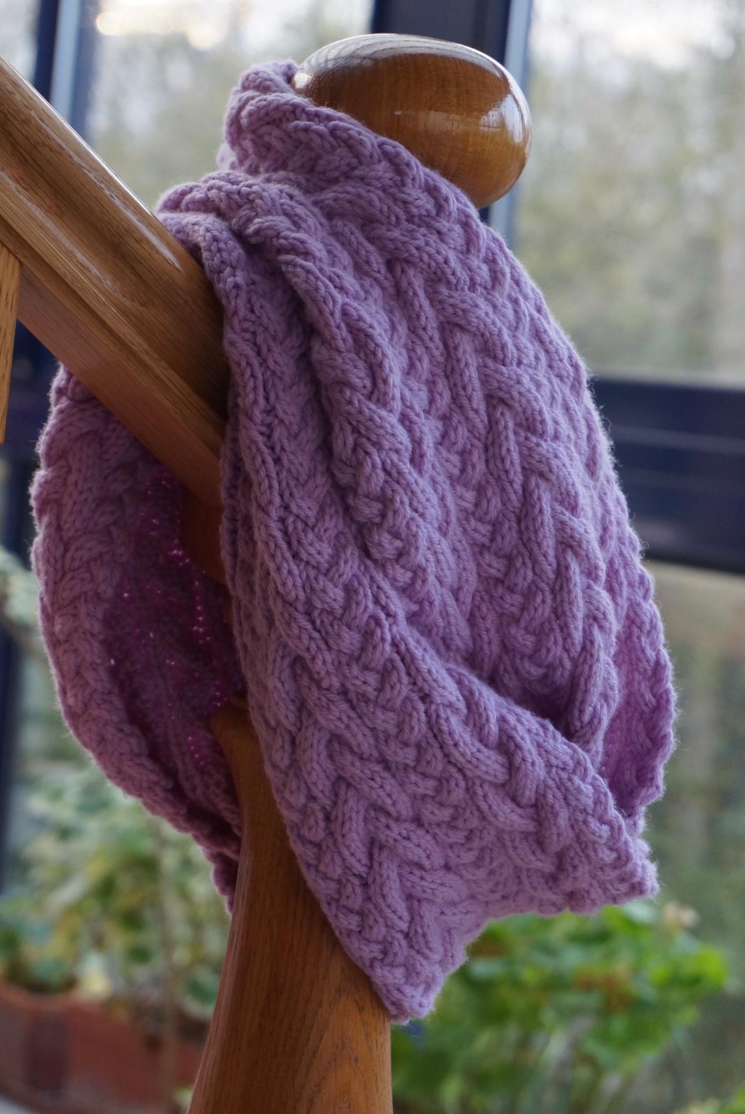 Liesl en purple mérinos 3