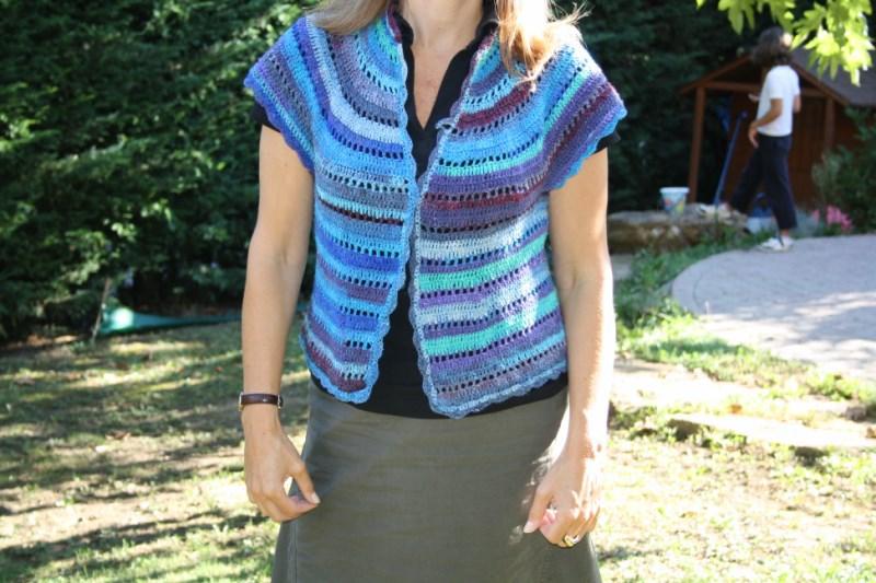 VESTE NORO crochet