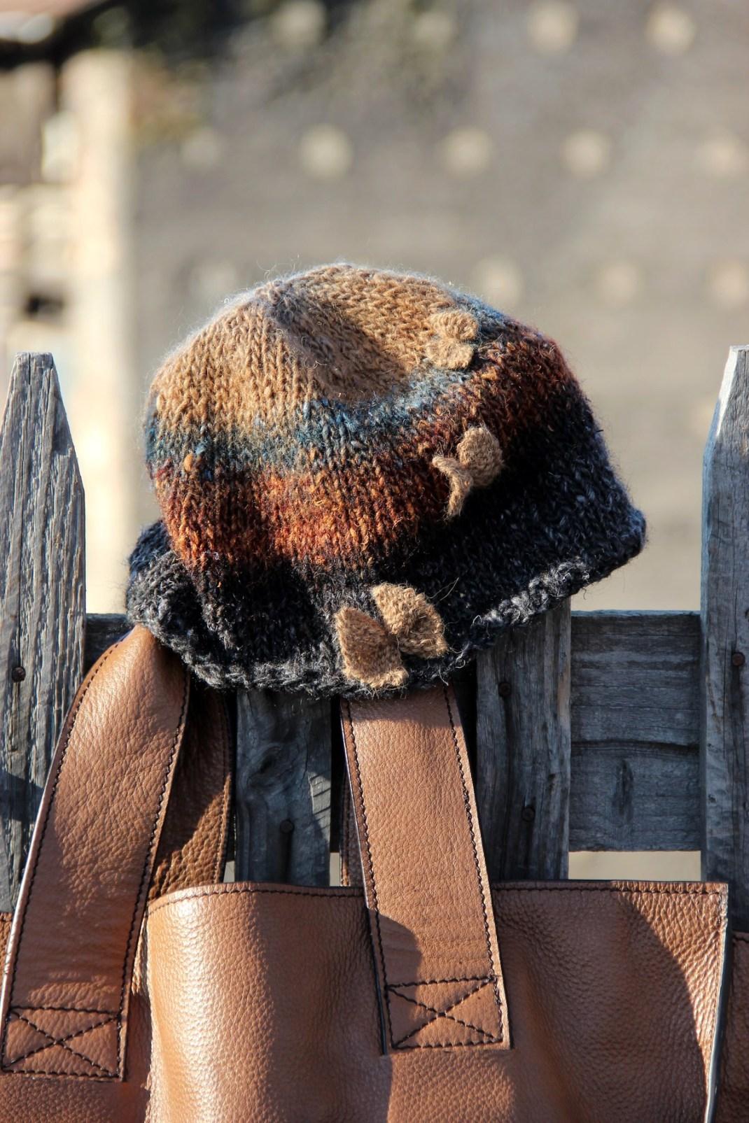 bonnet Noro gris