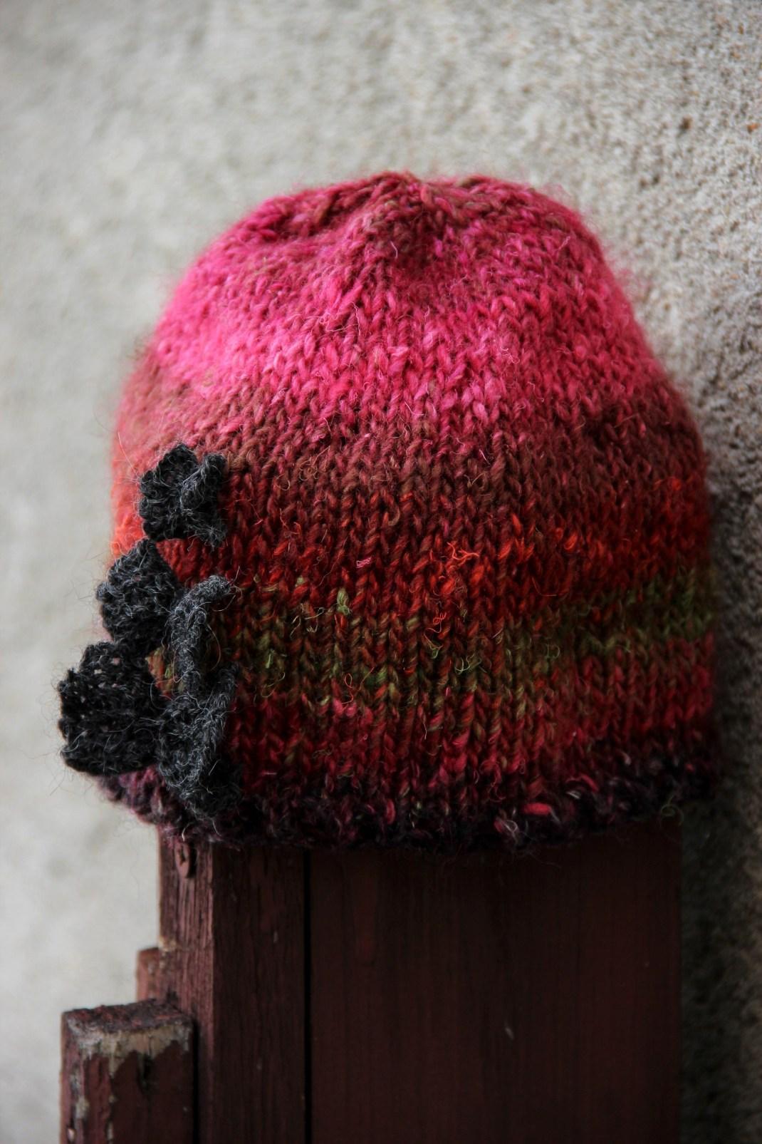 silk garden Papillons hat kit