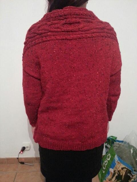 Stranger Cardigan en Fonty Super Tweed