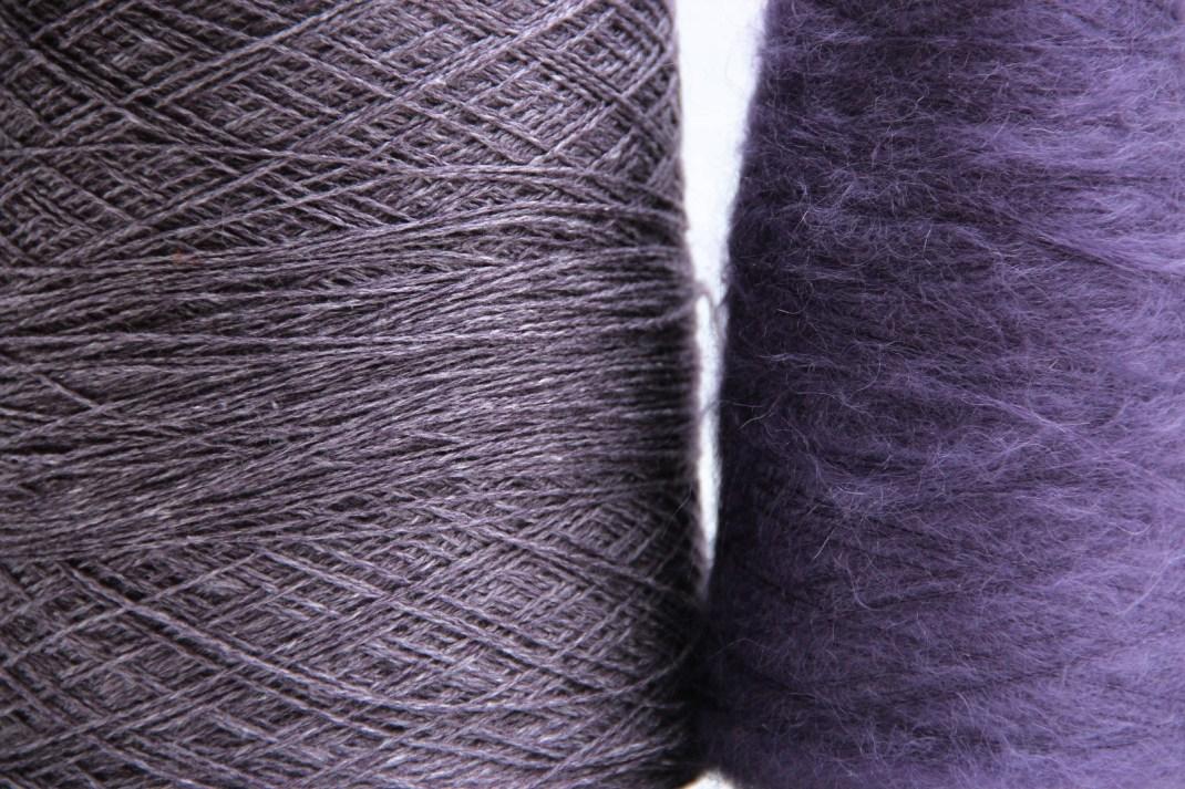 Coast Blackcurrant et Kidopale violet 304