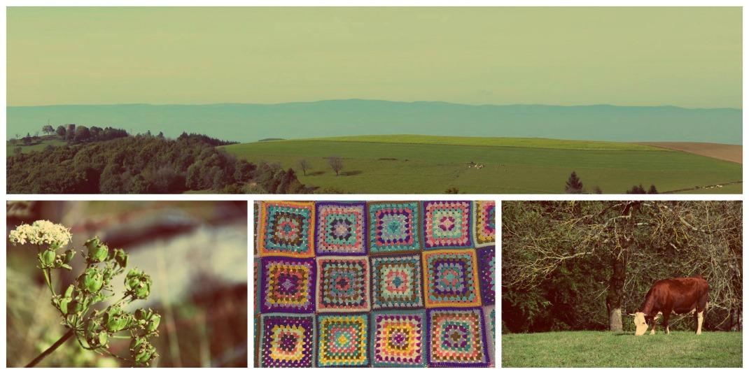 Collage be Happy à la montage 1