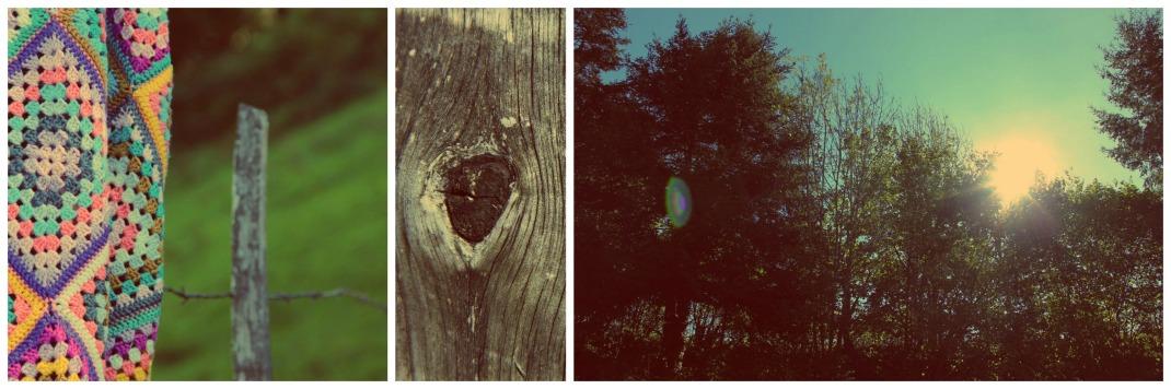collage Be happy à la montagne 3