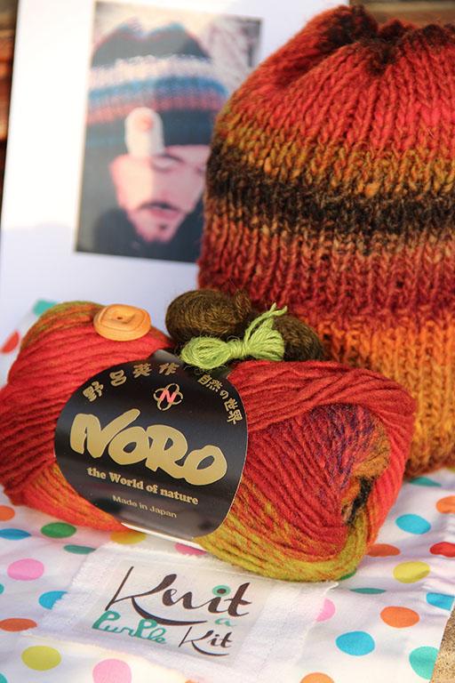 kit bonnet tricot kureyon 263