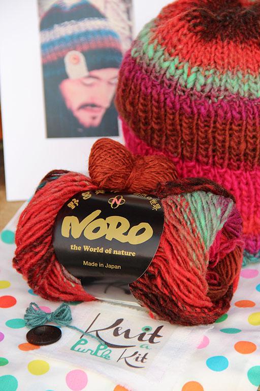 Kit bonnet tricot kureyon 326