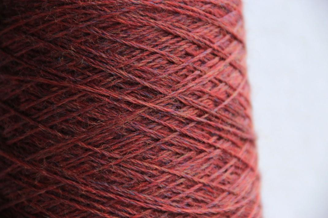 Purple Chinée rouge cinabre