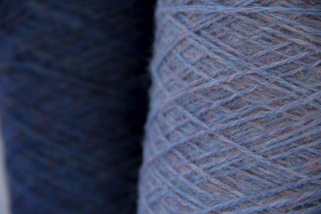 PurPle Chinée bleu nuit et bleu ciel PurPle laines