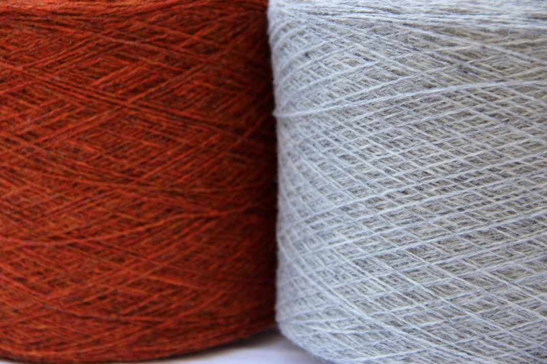 Supersoft Ember et Silver grey PurPle laines