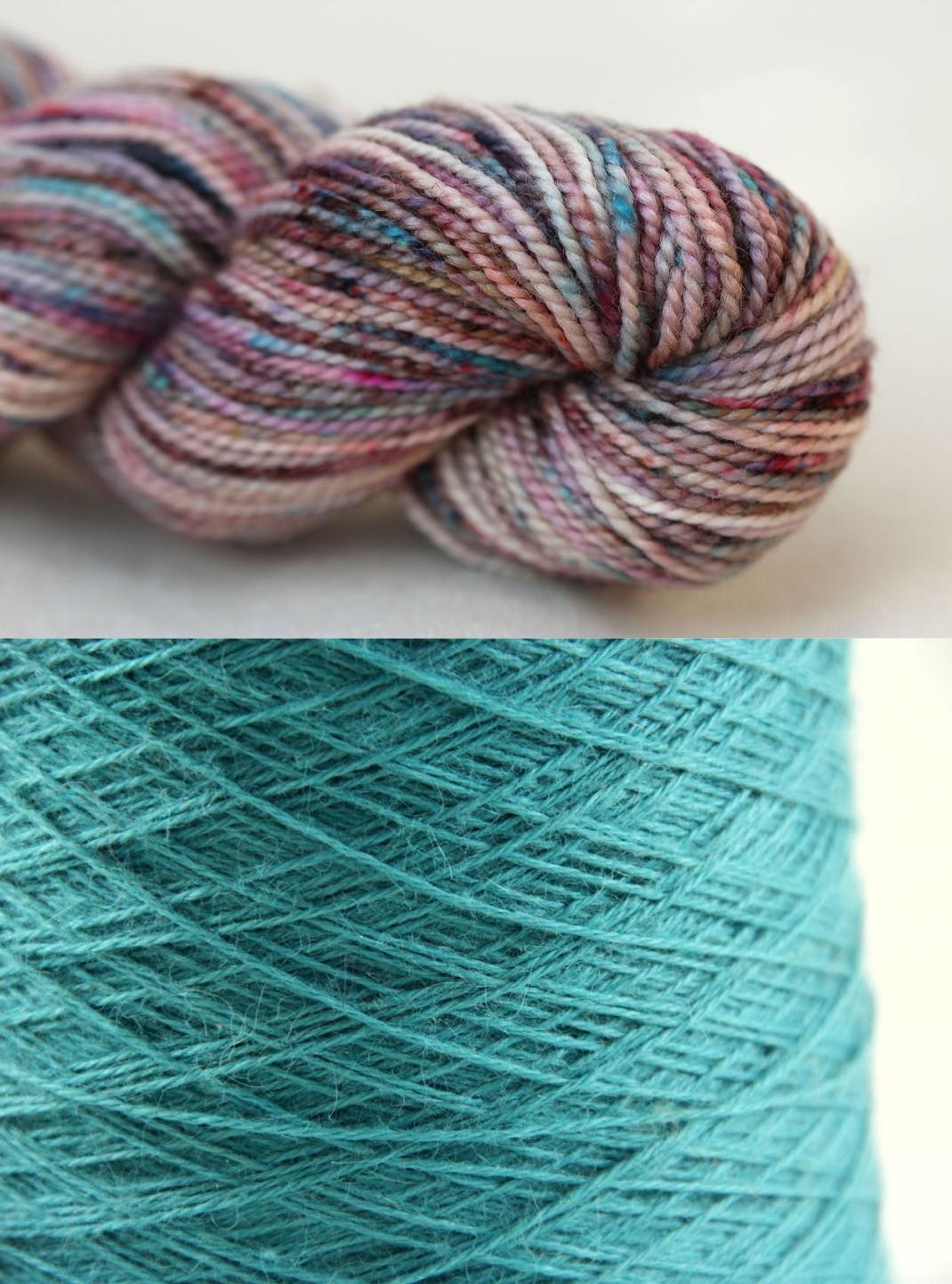 laines pour Botan Amirisu 10 PurPle Laines
