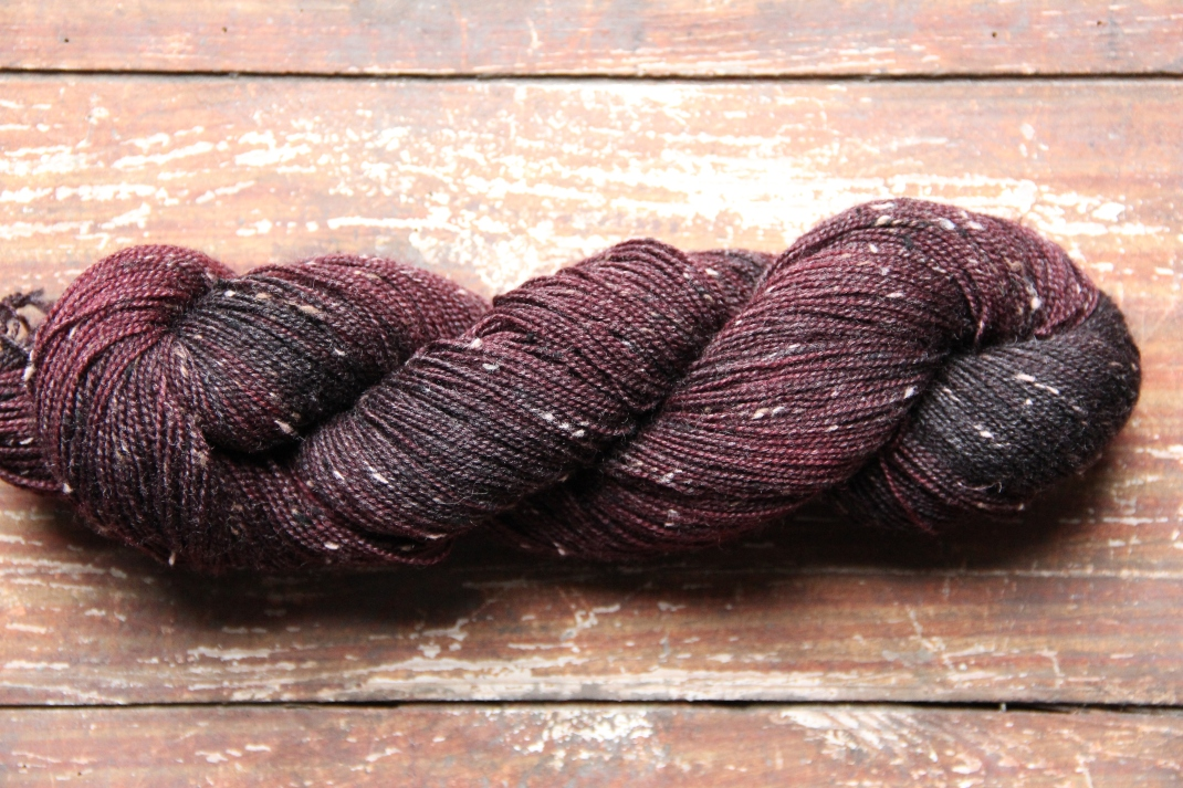 donegal-sock-bfl-cerise-purple-laines-tweed-7